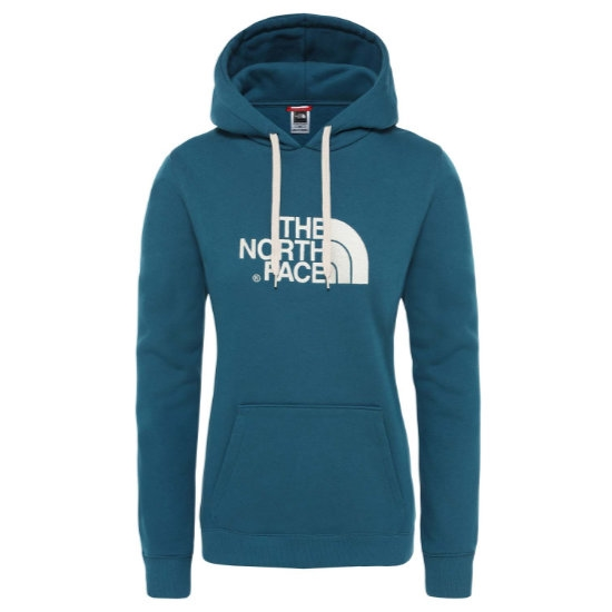 The North Face Drew Peak PO Hoodie W - Blue Coral/Vintage