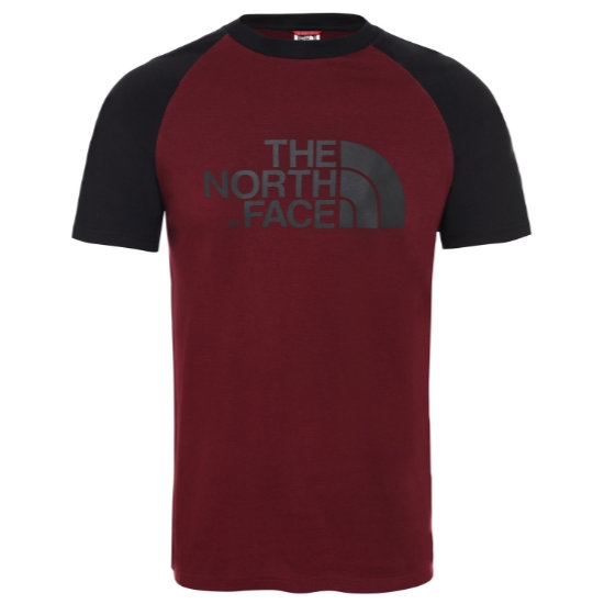 The North Face Raglan Easy Tee - Deep Garnet Red