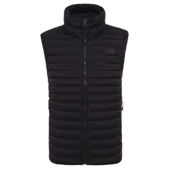 The North Face Stretch Down Vest - Black