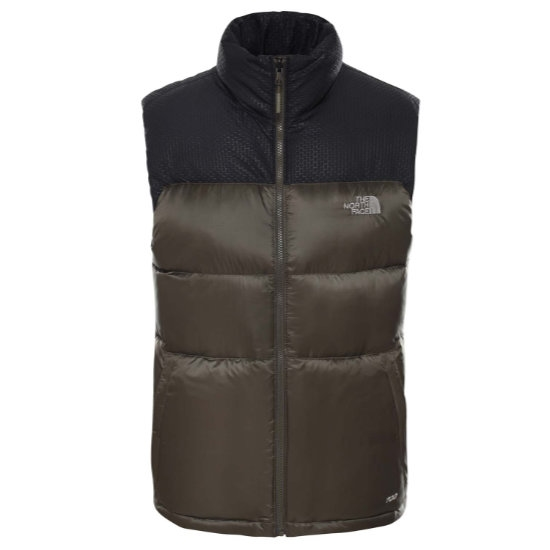 The North Face Nevero Down Vest - New Taupe Green/Black