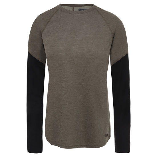 The North Face Presta L/S Crew W - New Taupe Green Heathe