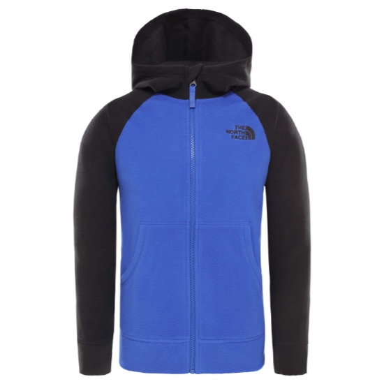 The North Face Glacier FZ Hoodie Recycled Boy - Tnf Blue