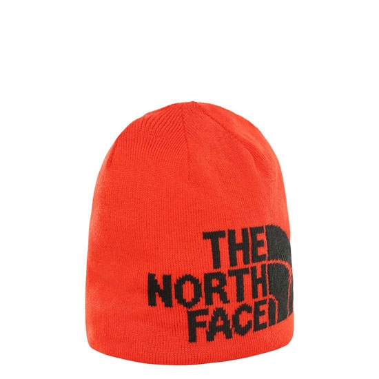 The North Face Highline Beanie - Fiery Red/Black