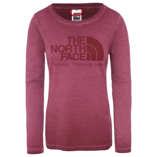 The North Face Washed Berkeley Tee W - Sequoia Red