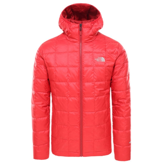 The North Face Kabru Hooded Down Jacket - TNF Red