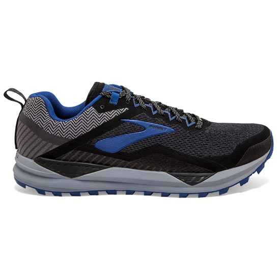 Brooks Cascadia 14 GTX - Black/Grey/Blue