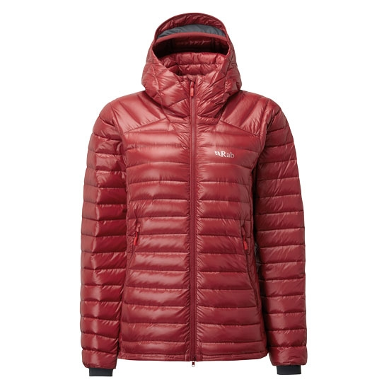 Rab Microlight Summit Jacket W - Crimson