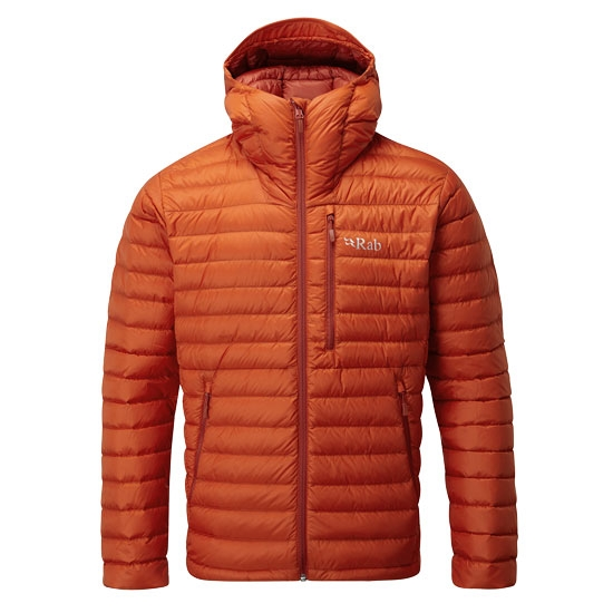 Rab Microlight Alpine Jacket - Firecracker / Red Clay