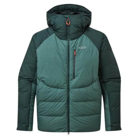 Rab Infinity Jacket - Pine/Bright Arctic