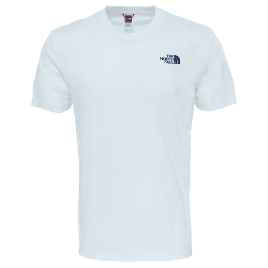 The North Face Redbox Celebration Tee - Tnf White/Urban Navy
