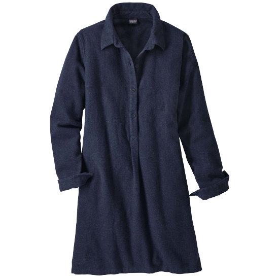 Patagonia Fjord Dress W - Navy Blue