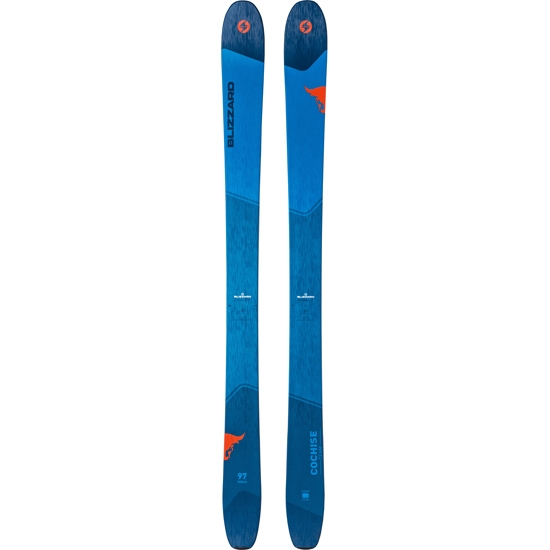 Blizzard Cochise Team (Flat) - Blue/Orange