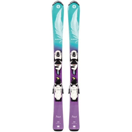 Blizzard Pearl JR + FDT JR 7 - Blue/Purple