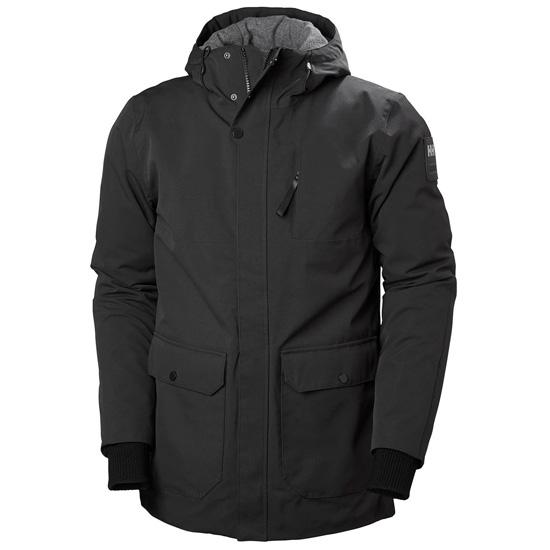 Helly Hansen Urban Long Jacket - Black