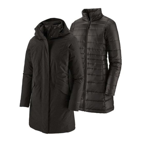 Patagonia Vosque 3-In-1 Parka W - Black