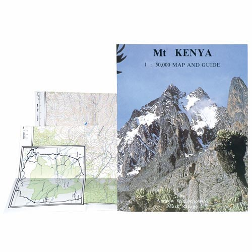 Ed. West Col Mount Kenia map & guide 1/50000 -