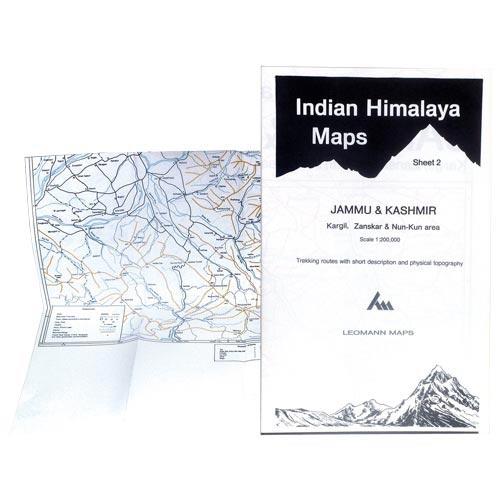 Ed. Leomann Maps Pu. Jammu & Kashmir-Sheet 2 Kargil, Zanskar -
