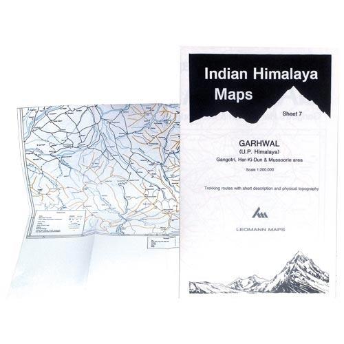 Ed. Leomann Maps Pu. GarhwalL, Sheet 7 Gangotri, Har-Ki-Dun,1/ -