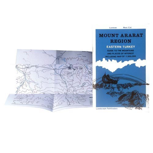 Ed. West Col Mount Ararat Region - Guide map -