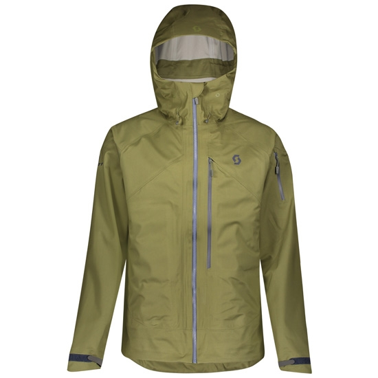 Scott Explorair 3L Jacket - Green Moss