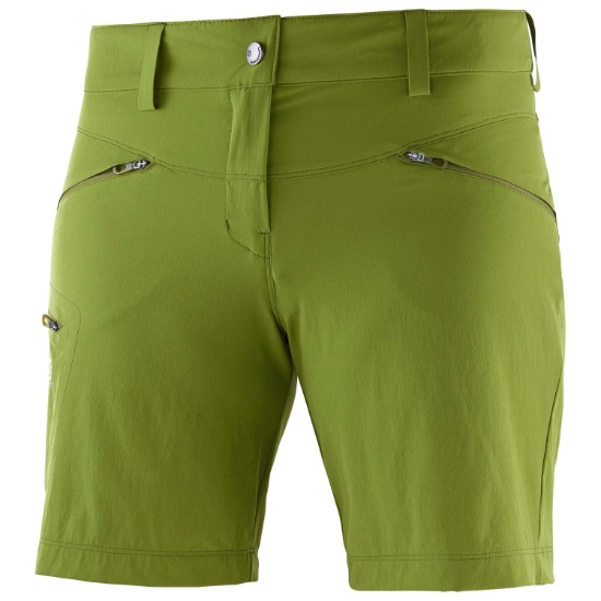 Salomon WAYFARER SHORT W - Avocado