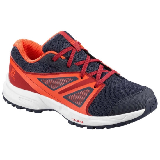 Salomon Sense Jr - Evening Blue/Red Dahlia