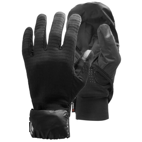 Black Diamond Wind Hood Gridtech Gloves - Black