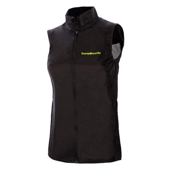 Trangoworld Azara Vest W - Negro/Verde Lima