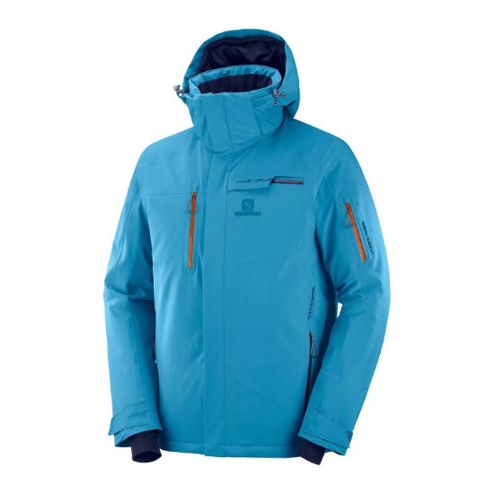 Salomon Brilliant Jacket -  Fjord Blue