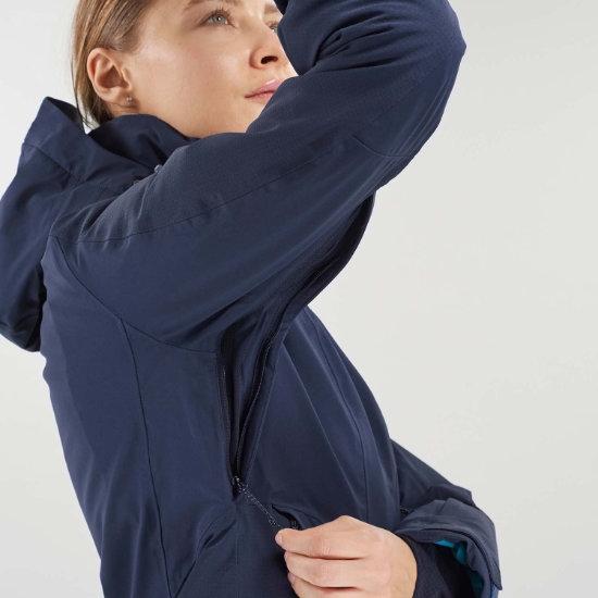 Salomon Brilliant Jacket W - Photo of detail