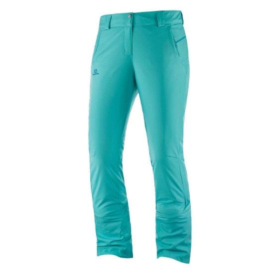 Salomon Stormseason Pant W - Blue Turquoise