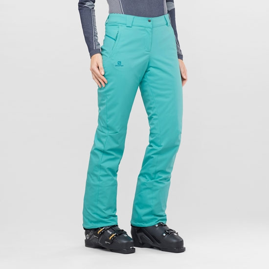Salomon Stormseason Pant W - Photo of detail