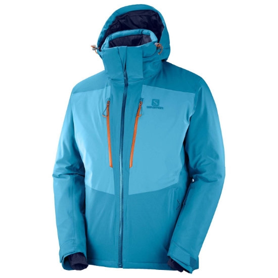 Salomon Icefrost Jacket - Lyons Blue/Fjord Blue