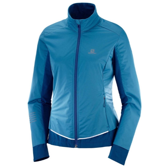 Salomon Lightning Lightshell Jacket W - Lyons Blue