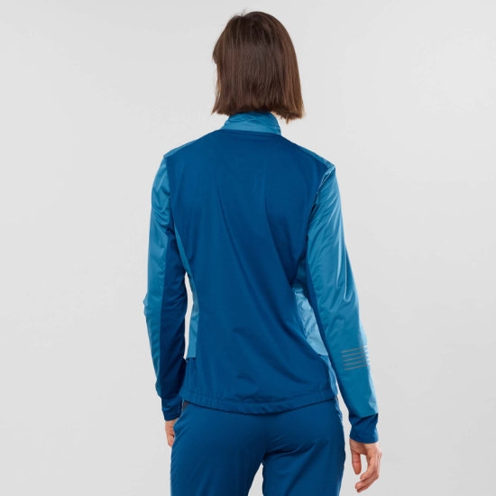 Salomon Lightning Lightshell Jacket Veste de ski de fond
