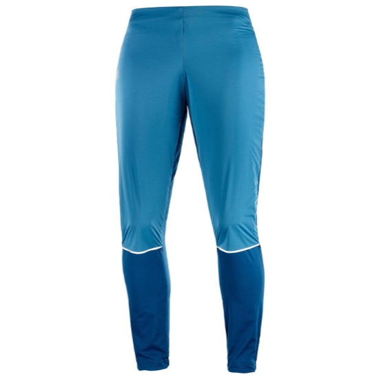 Salomon Lightning Lightshell Pant W - Lyons Blue