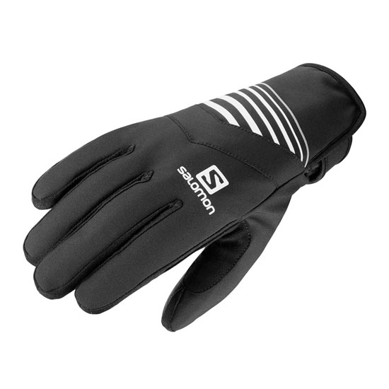Salomon RS Warm Glove - Black/White/White