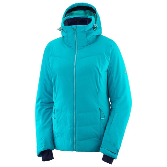 Salomon Icepuff Jacket W - Tile Blue