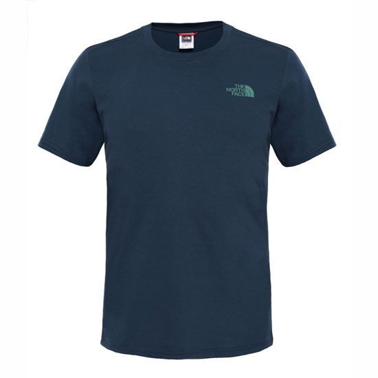 The North Face S/S Simple Dome Tee - Urban Navy
