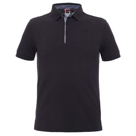 The North Face Premium Polo Piquet - Tnf Black/Tnf Black