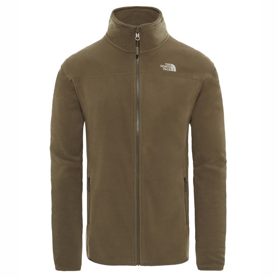 The North Face 100 Glacier Full Zip - New Taupe Green