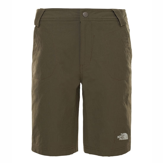The North Face Exploration Short Jr - New Taupe Green