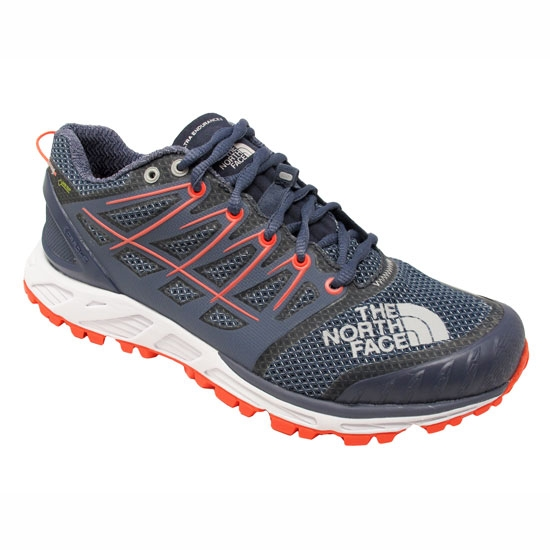 The North Face Ultra Endurance II GTX W - Grisaille Grey/Fiery Coral