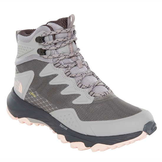 The North Face Ultra Fastpack III Mid GTX W - Meld Grey/Pink Salt