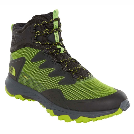 The North Face Ultra Fastpack III Mid GTX - TNF Black/Tender Green