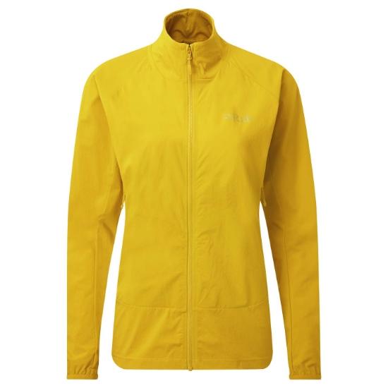 Rab Borealis Tour Jacket W - Sulphur