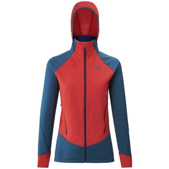 Millet Pierra Ment II Jacket W - Cosmic Blue/Fire
