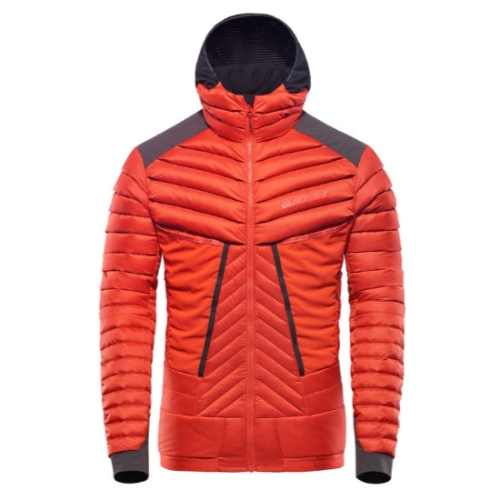 Black Yak Bakosi Jacket - Fiery Red