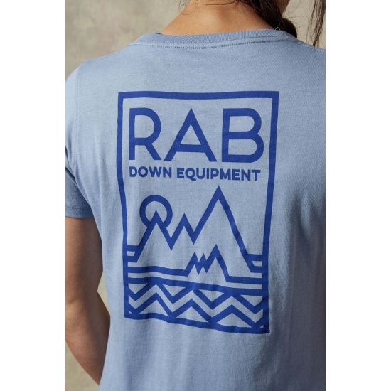 Rab Stance Geo SS Tee W - Photo of detail