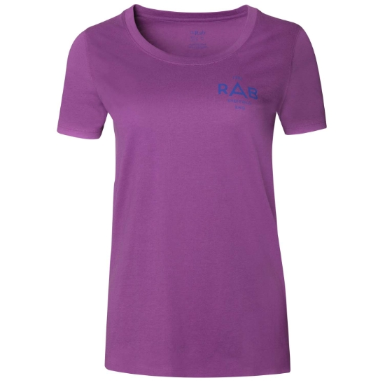 Rab Stance Geo SS Tee W - Violet